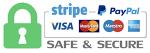 Pago seguro PayPal o Stripe